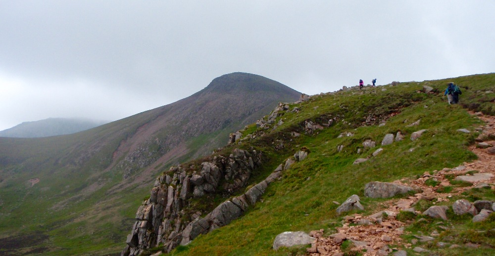 Up onto Red Pike