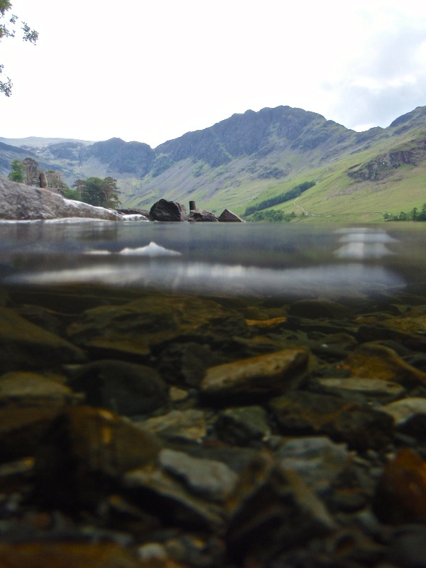 Buttermere above and below