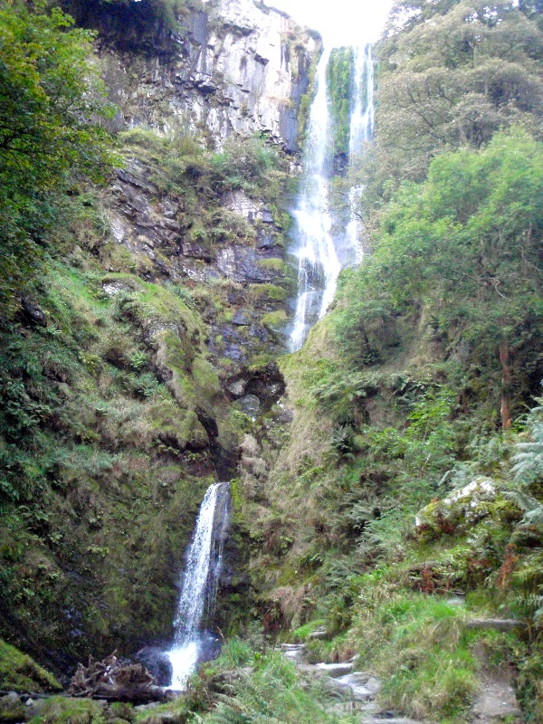 Pistyll Rhaeadr - the highest waterfall outside of Scotland