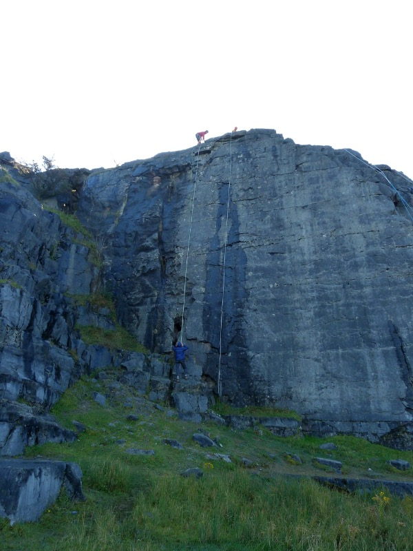 Bottom of the Abseil