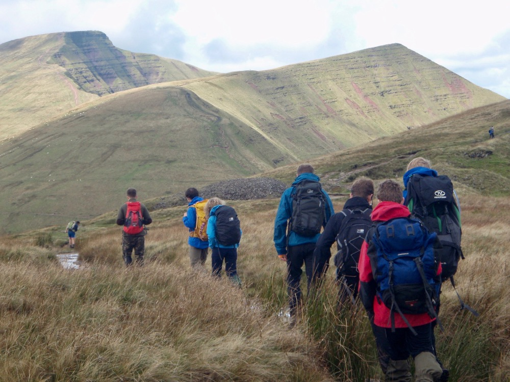 Pen y Fan, Cribyn & Fan y Big