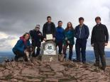 Team Judy on Pen y Fan