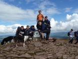 Team Andy on Pen y Fan