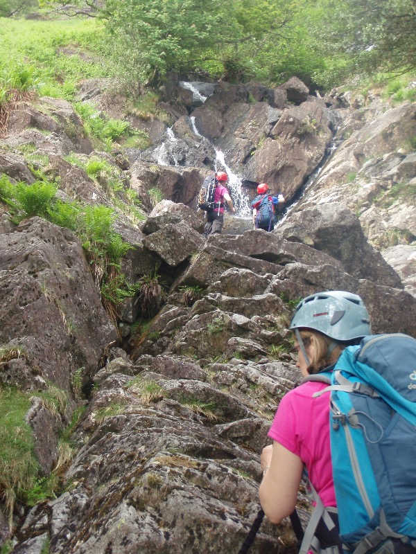 Route finding in Sour Milk Gill