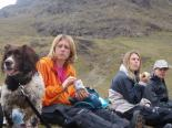 Lunch at Stickle Tarn