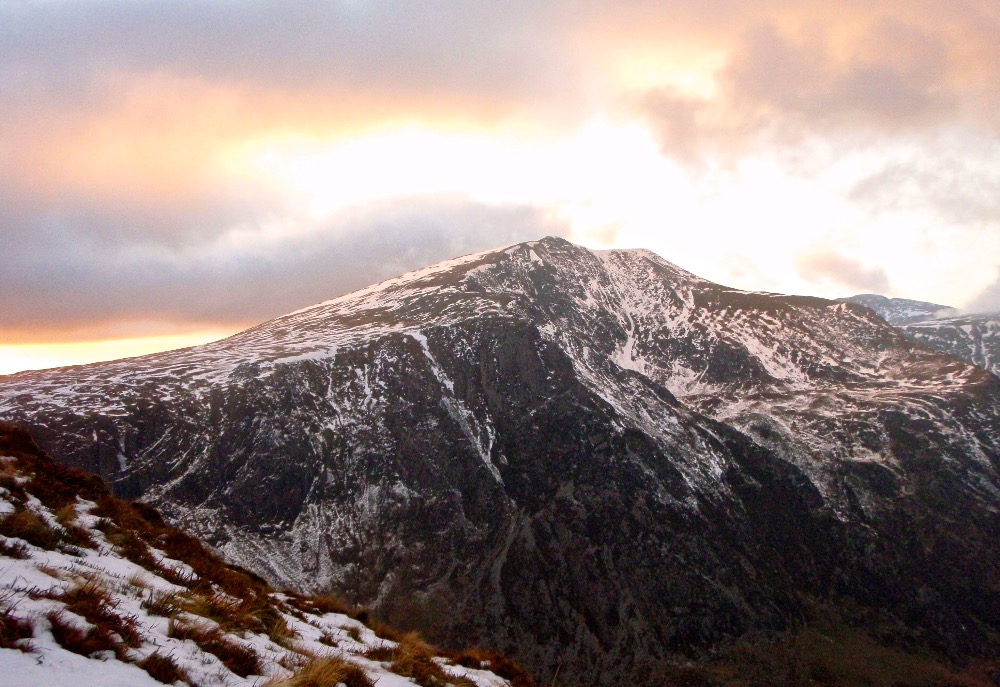 Y Garn at Sunset