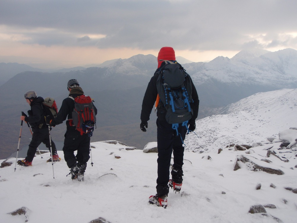 Traversing the Glyders