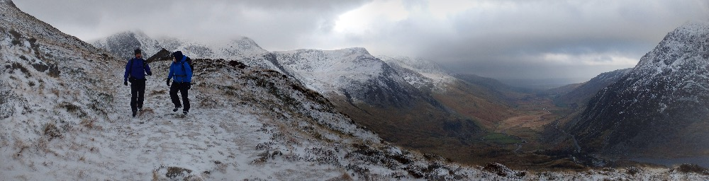 Ogwen Valley, pretty