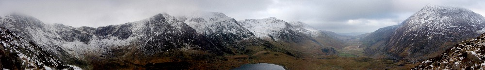 Ogwen Valley on Sunday